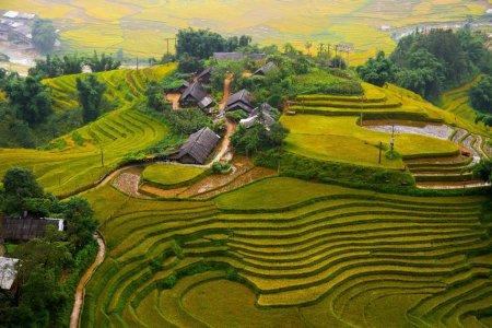 منطقة سابا او منطقة الفردوس المفقود احد اهم المعالم السياحية في فيتنام