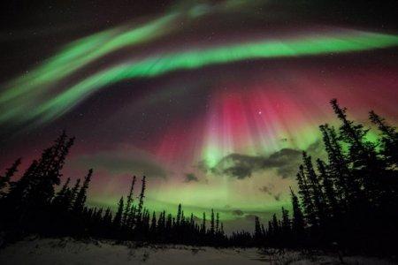 اضواء الاسكا الشمالية