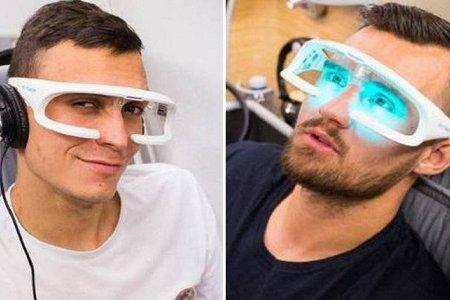 النظارة الضوئية