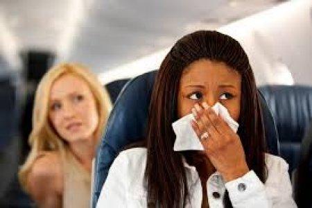 نصائح لتجنب الاصابة بالجراثيم في الطائرة
