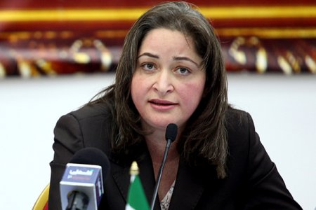 رولا معايعة وزيرة السياحة فى فلسطين