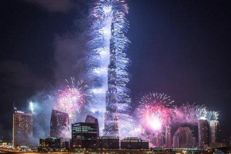 احتفالات دبي برأس السنة الجديدة