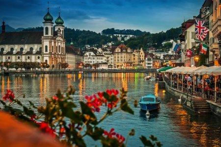 السفر الي سويسرا