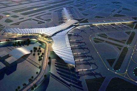 لقطة علوية لمطار جدة الجديد