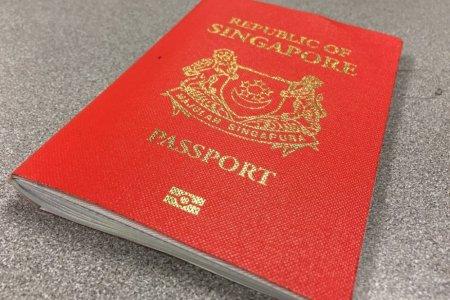 جواز السفر السنغافوري
