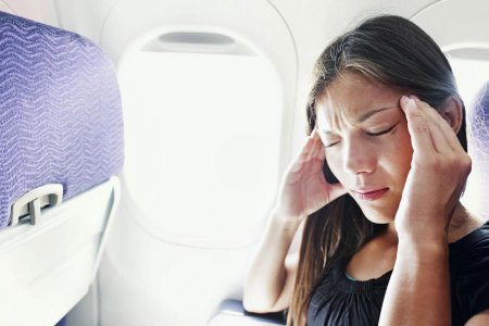 دوار الجو في الطائرة