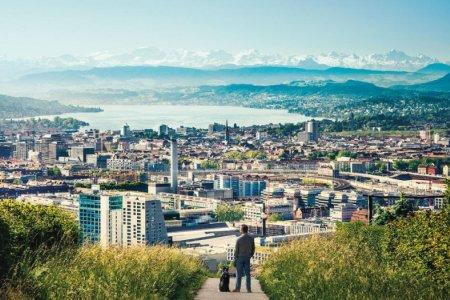 مدينة زيورخ في سويسرا