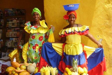 الملابس التقليدية في كولومبيا