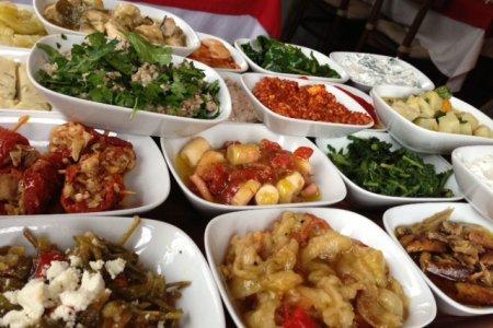 اكلات نباتية في تركيا