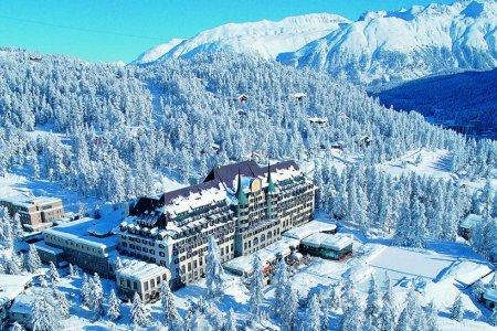 الأجواء الشتوية في سويسرا