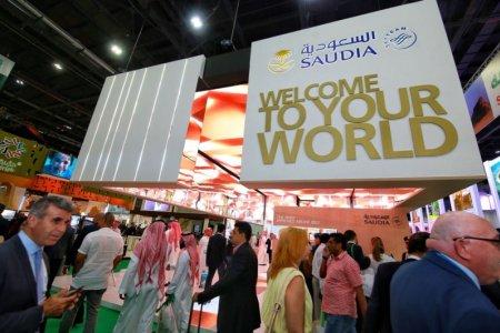 الخطوط السعودية تستعرض خدماتها ومنتجاتها فيATM