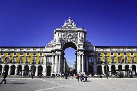الساحة التجارية في لشبونة