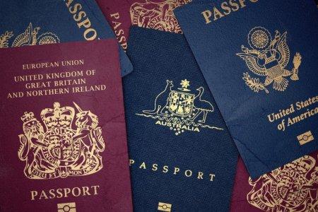 جوازات سفر مختلفة