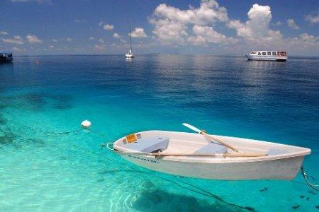 ركوب القوارب في الجزيرة