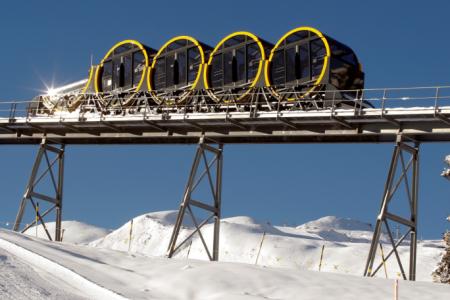 أعلى قطار معلق في العالم