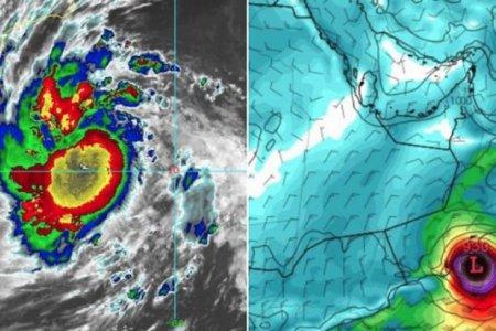 اعصار بحر العرب ميكونو