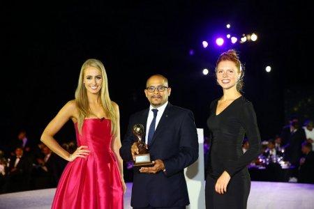 تسلم جائزة أفضل فندق في الشرق الأوسط