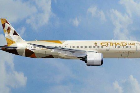 الاتحاد للطيران تشغيل طائرتها بوينغ 787