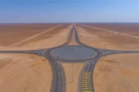 طريق بين السعودية وعمان