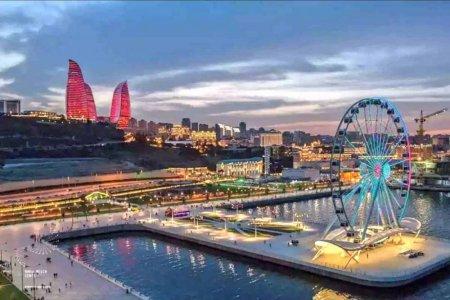 مدينة باكو عاصمة اذربيجان