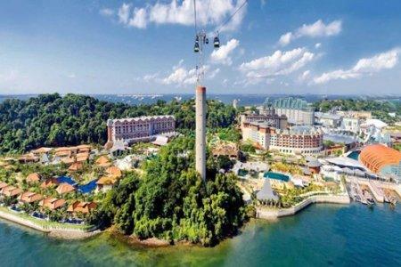 جزر سنغافورة السياحية