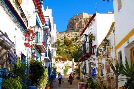 البلدة القديمة في ماربيا اسبانيا