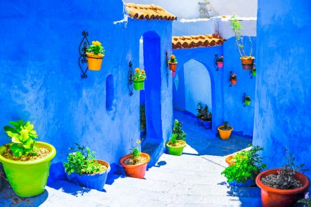 شفشاون في المغرب