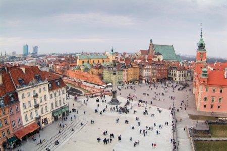 وارسو العاصمة البولندية