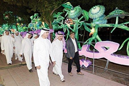 افتتاح حديقة دبي