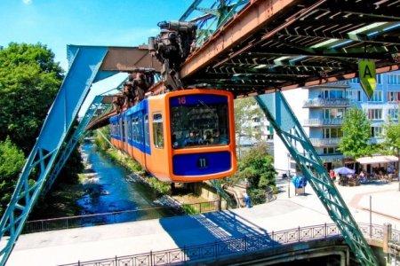 مدينة فوبرتال Wuppertal في ألمانيا