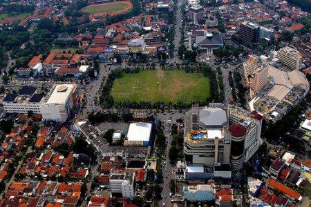 مدينة سيمارانج في مدينة سيمارانج الإندونيسية