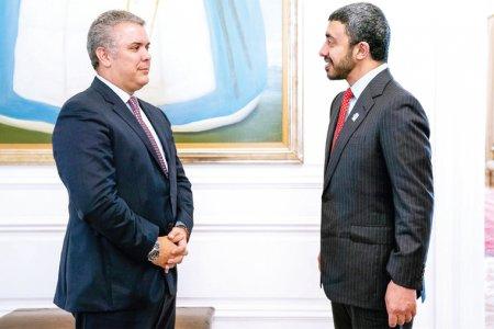 عبدالله بن زايد وإيفان دوكي
