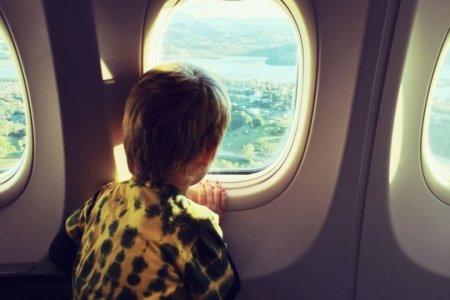 سفر الاطفال بالطائرة