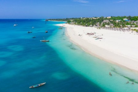 شواطئ زنجبار في تنزانيا
