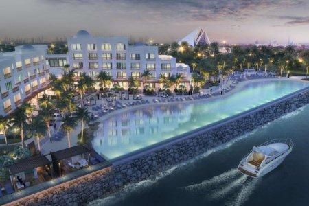 بحيرة لاجون بارك حياة دبي