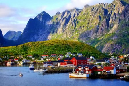 النرويج مدينة الاجواء الهادئة