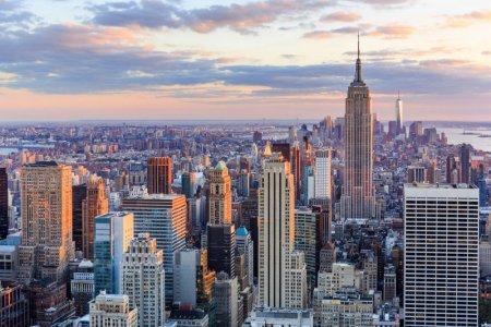 نيويورك مدينة ناطحات السحاب