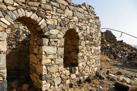 قلعة شمسان العثمانية في مدينة أبها