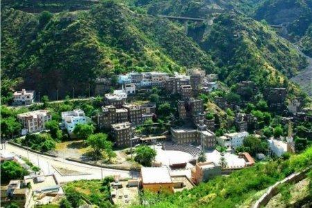 قرية رجال ألمع في مدينة أبها
