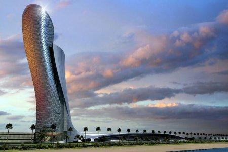 برج أبوظبي المائل في الإمارات