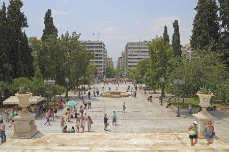 ميدان سنتغما في أثينا باليونان