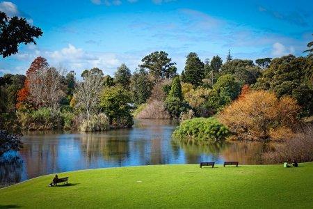 جمال حدائق مدينة ملبورن الإسترالية