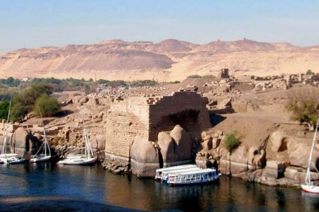 جزيرة الفنتين في مصر