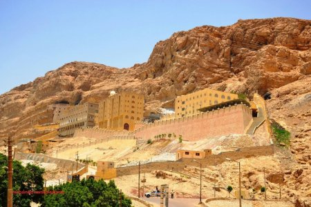 الدير المعلق في أسيوط - مصر