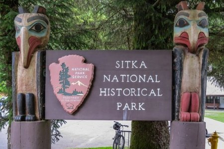 منتزه سيتكا الوطني في ألاسكا