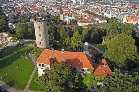 قلعة سبارنبرج حصن مدينة بيلفيلد