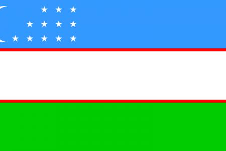 علم أوزبكستان