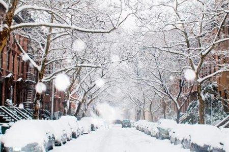 الأجواء الشتوية في أوكرانيا