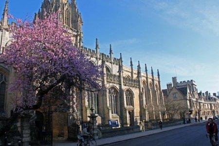 كنيسة جامعة سانت ماري العذراء في أوكسفورد