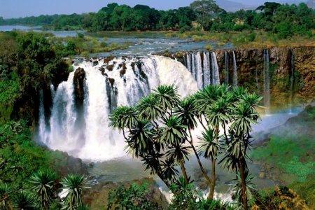 شلالات النيل الأزرق في إثيوبيا